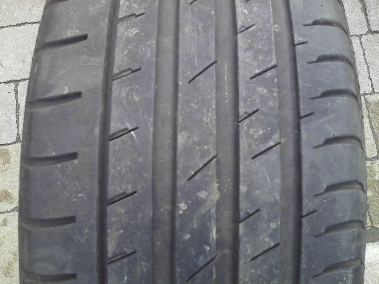 215/45 R17 CONTINENTAL CONTI SPORT CONTACT 3 87V 4мм