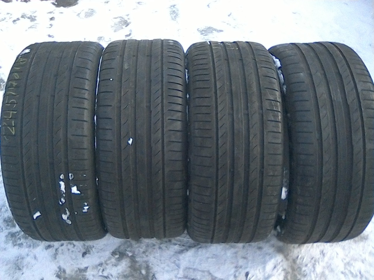 245/40 R18 CONTINENTAL CONTI SPORT CONTACT 5 97V 4мм