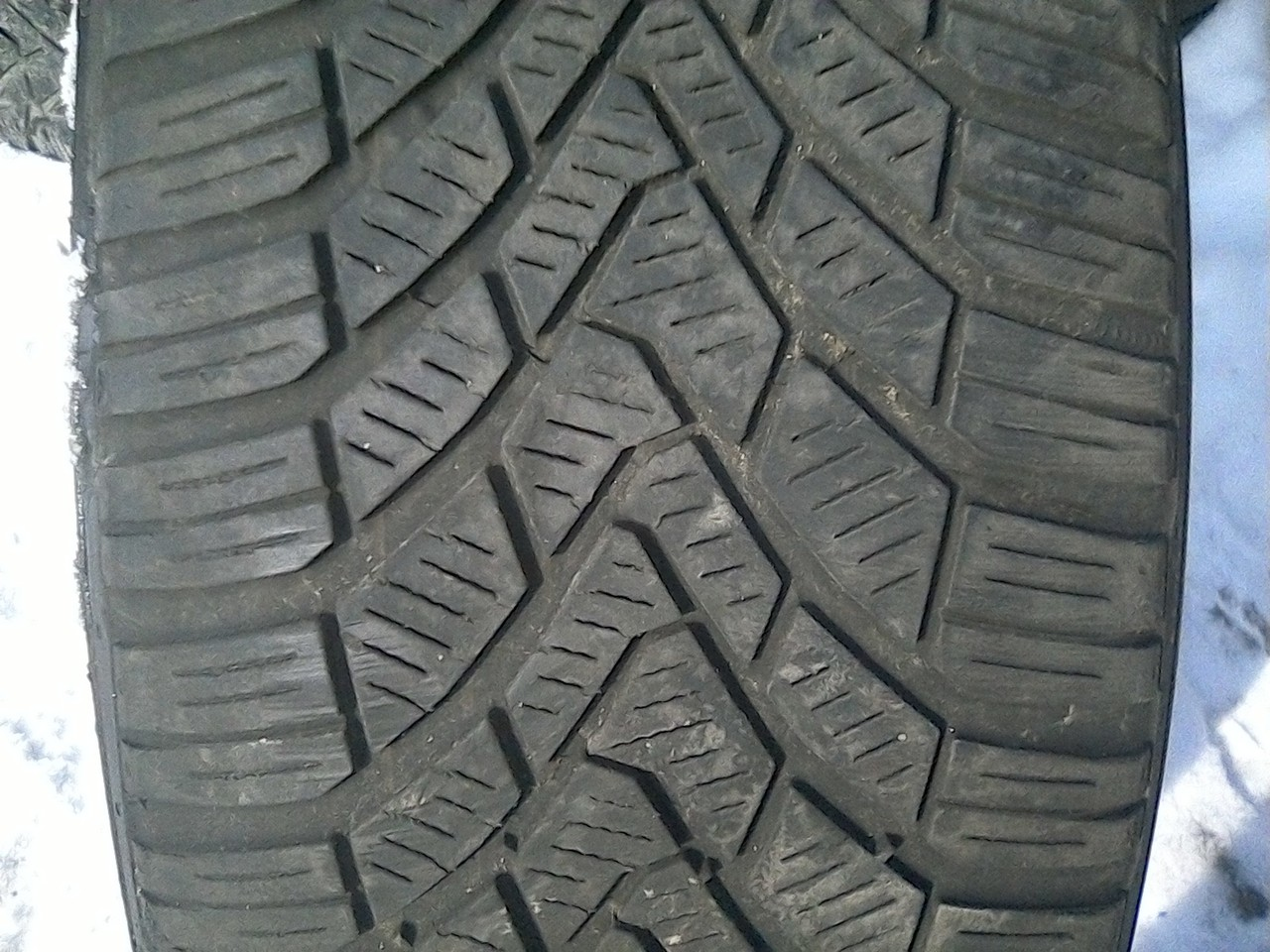 205/55 R16 CONTINENTAL CONTI WINTER CONTACT TS 850 91T 4мм