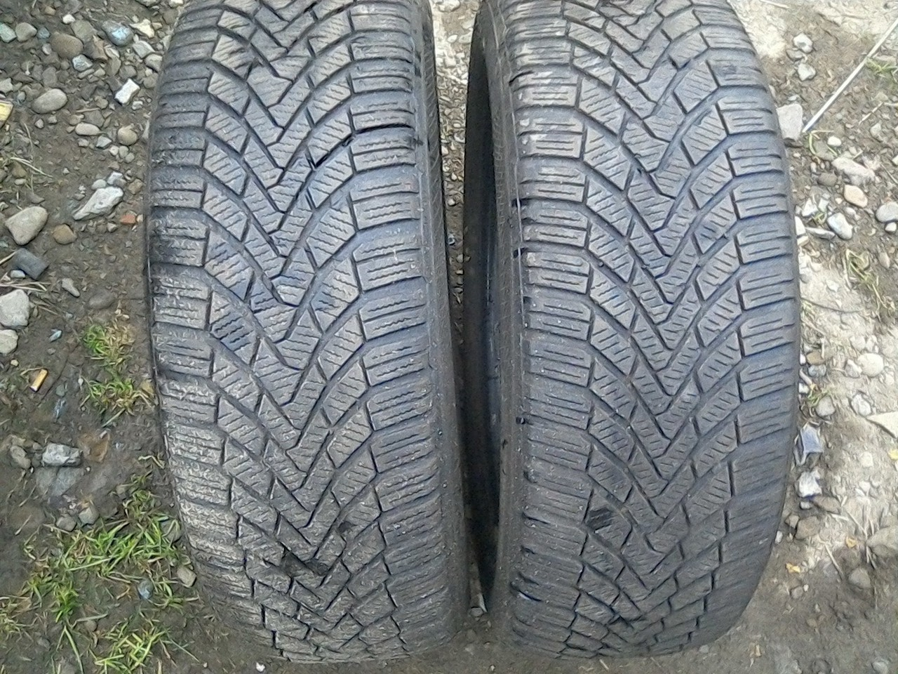 205/55 R16 CONTINENTAL CONTI WINTER CONTACT TS 850 91T 6мм
