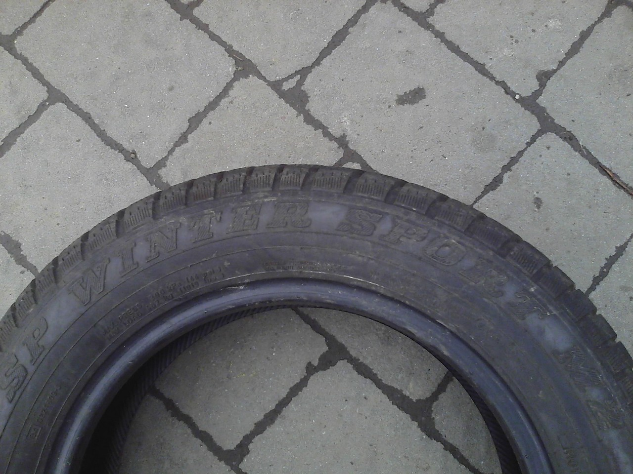165/70 R14 DUNLOP SP WINTER SPORT M2 81T 6мм