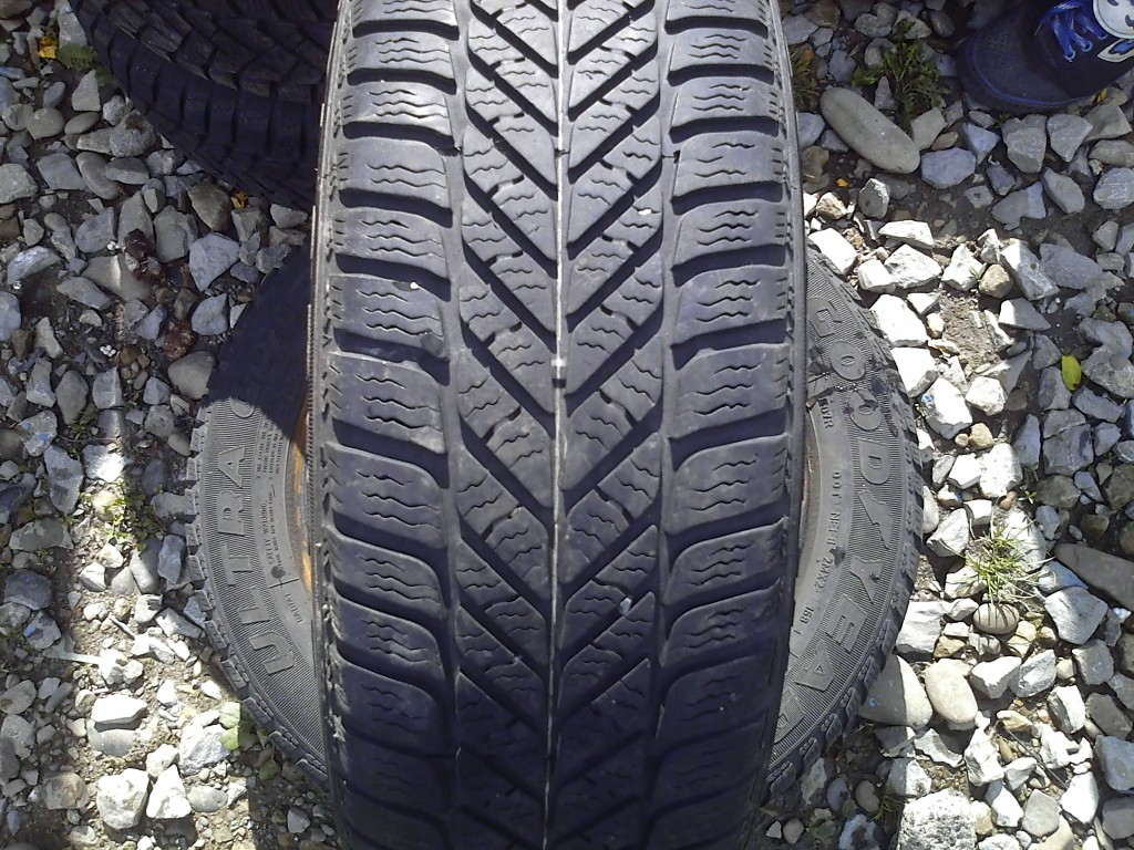 185/60 R14 GOODYEAR ULTRA GRIP 5 82T 5мм