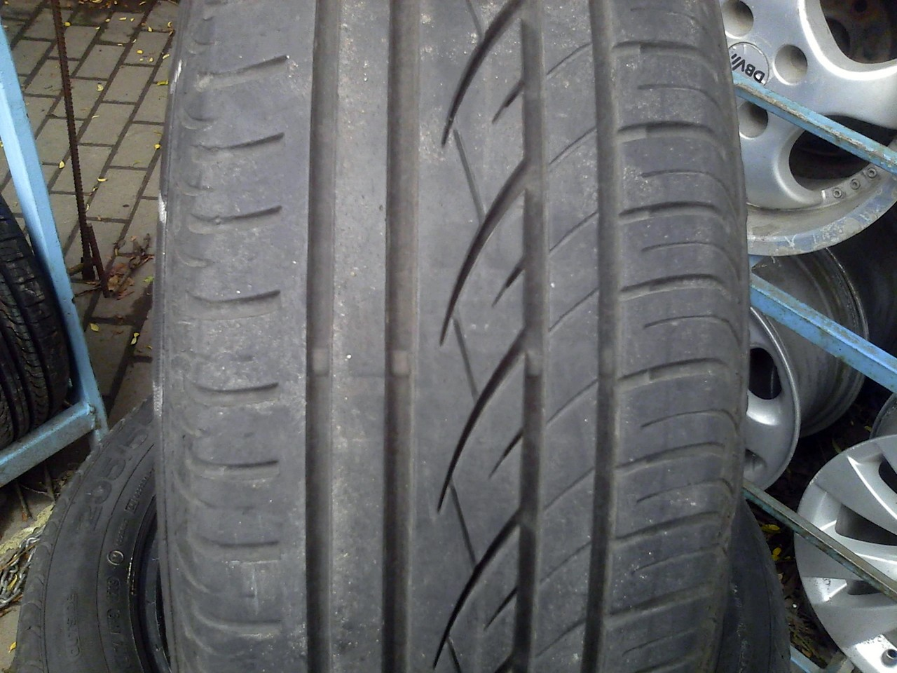 205/55 R16 CONTINENTAL PREMIUM CONTACT SSR 91H 6мм